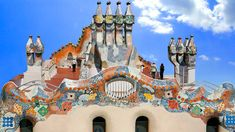 Official gallery of Casa Batlló's images. Discover every corner of the Jewel of Gaudí. - I have been doing a bunch of puzzles based on Barcelona and have seen some awesome stuff. This house is just one of those. I would love to see it in person