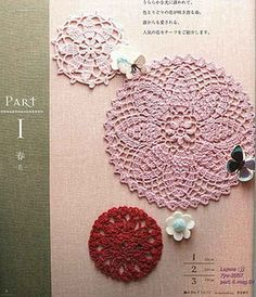 My grandma used to crochet beautiful doilies and tablecloths. Maybe I will someday!