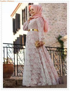 Pınar Şems İlkbahar Yaz Tesettür Abiye Modelleri