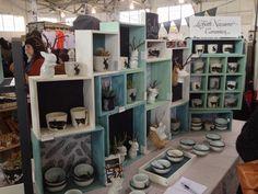 lizbeth navarro ceramics - Craft fair display ideas - dear handmade life