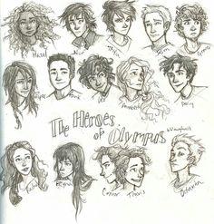Os Herois do Olimpo