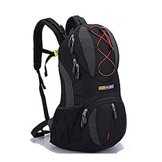 KSwallow Tm Outdoor Multipurpose Hiking Backpack Bicycle Travel Daypack Black * Click on the image for additional details.(This is an Amazon affiliate link and I receive a commission for the sales)