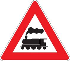 An overview of the warning signs of Turkey. Learn all traffic signs with the free practice questions. Free Pictures, Free Images, All Road Signs, Danger Signs, Give Directions, Learn From Your Mistakes, Train Party, Google Play, Vector Free