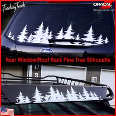 This is unique rear window forest line vinyl decal designed by Finishing Touch Vinyl Art. This decal can be applied easily to your car, truck, rear window in just a few minutes! | eBay!