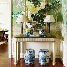 Green.  Image via: @mydomaine. #InteriorDesigner: @ashleywhittakerdesign. #dcblogger #decor #decorate #decorating #design #designinspo #designideas #dekor #decoração #homedecor #homedesign #homeideas #inspo #instahome #instadecor #instadesign #interior