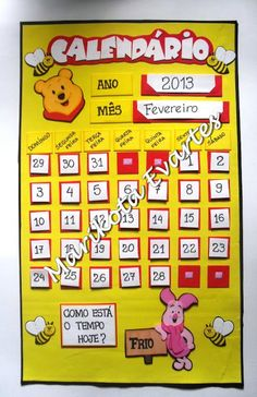 Crafts To Make, Crafts For Kids, Winnie The Pooh, Activities, Education, How To Make, Kids Study, Early Education, Calendar Templates