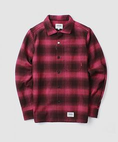 SSDD PINE FLANNEL SHIRT / 9300 / RED > FUCT SSDD | HIDE AND RIDE