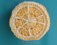 Lemon Slice Coasters (Set of 4)