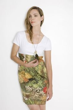 inspiration to make a t-shirt dress - DIY Clothes Designs Ideen Upcycle T Shirts, Old T Shirts, Diy Dress, Dress Skirt, Shirt Dress, Loose Fit, Diy Clothes Design, Diy Kleidung, Altering Clothes