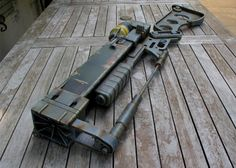 Somebody! Put A Gearbox In This Fallout 3 AER9 Laser Rifle Prop!