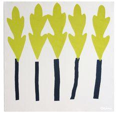 Leaf Trees by Erin Flett   Serena & Lily