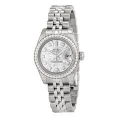 awesome Rolex Lady Datejust Diamond Bezel Jubilee Bracelet Ladies Watch 179384GCDJ