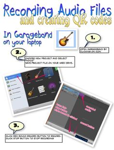 Audio files and QR codes- great for the classroom!