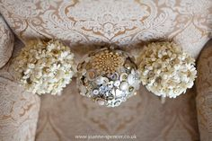 Button bouquets - Graythwaite Manor Wedding Photography