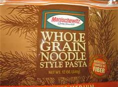 Change to Whole-Grain Noodles for Your Health.