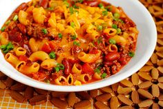 Skillet Chili Mac & Cheese: Easy to make a Dehydrated version