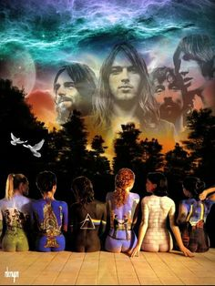 Pink Floyd Ladies & Band