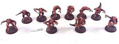 Warhammer 40k Tyranid Genestealers or Hormagaunts Conversion Well Painted! 4009