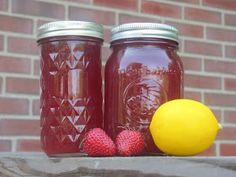 Creating Nirvana: Canning Honey Sweetened Strawberry Limeade and Strawberry Lemonade