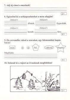 Szövegértés gyakorlásához feladatlapok, 2. osztály - kossuthsuli.lapunk.hu Teacher Sites, Sheet Music, Album, Teaching, Archive, Printable, Games, Diy, Do It Yourself