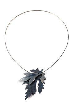 Necklace patinated silver 2016 by Katarina Henriksson http://www.vannajewelry.com/product-category/necklaces/pendants/