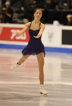 Alissa Czisny Blue Figure Skating / Ice Skating dress inspiration for Sk8 Gr8 Designs