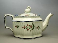 Teapot BRISTOL POTTERY (ENGLISH, ACTIVE C. 1785–1825) LATE 18TH-EARLY 19TH CENTURY