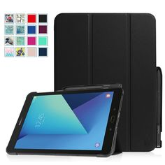 For Samsung Galaxy Tab S3 9.7 Case Slim Shell Standing Cover with S Pen Holder