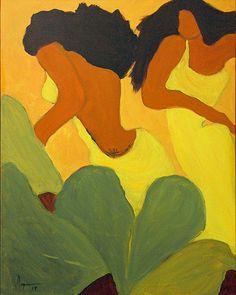 Kekai & Kamau   by Mapuana Schneider Artworks, Tropical, Tv, Canvas, Face, Artist, Painting, Inspiration, Biblical Inspiration
