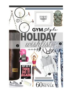 """The sporty list"" by lseed87 ❤ liked on Polyvore featuring ZENTS, NIKE, The North Face, Everlast, SIGG, yogapants, christmaslist, 60secondstyle, Christmas2015 and 2015wishlist"