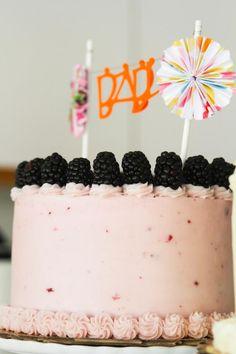 Chocolate blackberry syrah cake