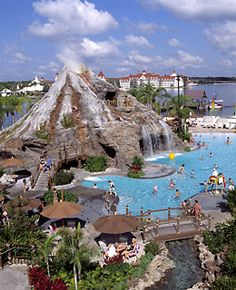 I have had quite a few requests for information about which of the Monorail Resorts are the best for kids....THIS IS MY FAVORITE! Swimming and sliding down a volcano? Swimming underwater while listening to Hawaiian music...sitting in a hammock while having the few of Cinderella's Castle! PLUS...awesome restaurants! Who wants to hear more about the Polynesian Resort at WDW?