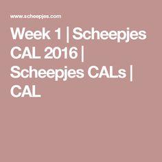 Week 1 | Scheepjes CAL 2016 | Scheepjes CALs | CAL