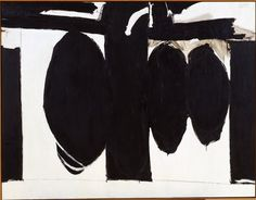 Elegy to the Spanish Republic, No. 57   Robert Motherwell  American (Aberdeen, Washington, 1915 - 1991, Provincetown, Massachusetts)  1957-1960  Painting | oil on canvas