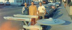 Entregado hace 50 años hoy Star Trek Original Series Empresa Modelo.29 de Diciembre (1964-2014)
