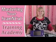 Mastering Your Brother Scan n Cut - Training Academy Scan N Cut Projects, Easy Sewing Projects, Brother Dream Machine, Paper Cutting, Die Cutting, Cutting Files, Die Cut Machines, Cut Canvas, Scrapbook Albums
