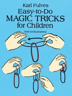While the magic tricks are great, most are easy to do. Magic tricks are designed to please crowds, which inevitably forms a majority at most gatherings. Magic tricks are the most popular form of magic entertainment. Self-working magic Magic Tricks For Kids, Magic Tricks Book, Magic Illusions, Magic Party, Magic Theme, Sleight Of Hand, Magic Show, Card Tricks, Boredom Busters