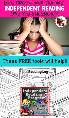 FREE tips and tools to help you keep your students accountable during SSR, DEAR, and independent reading time!!