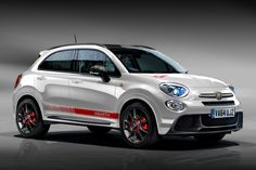 Performance-focused Abarth 500X crossover to join 124 Spider in new range of sports cars