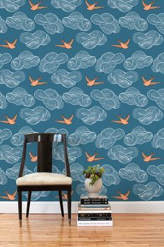 Hygge & West Removable wallpaper.