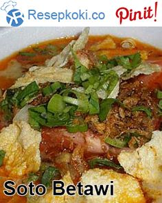 Tasty lunch, delivered daily to your doorstep in Jakarta and South Tangerang. Soto Betawi, Kinds Of Soup, Asian Kitchen, Indonesian Cuisine, Asian Recipes, Ethnic Recipes, Antara, Vegetable Dishes, Street Food