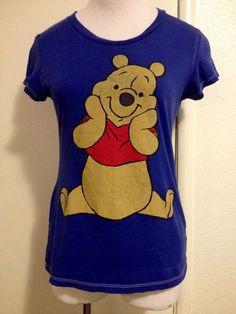 "Womens Juniors ""Winnie The Pooh"" Shirt Large #Disney #GraphicTee"