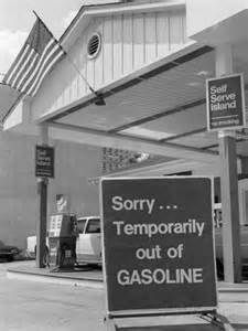 ... Temporarily Out of Gasoline Sign During 1973 Opec Oil Shortage Crisis. (goverment)Organization of the Petroleum Exporting Countries many Middle East countries are apart of OPEC.