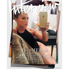 September issue of @interviewmag  #InstaGang #InterviewGang #SelfieGameStrong #BronxBarbie by jlo
