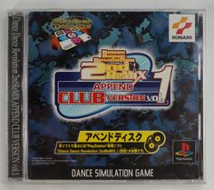 #PS1 Japanese Dance Dance Revolution 2nd Remix Append: Club Version Vol. 1 SLPM-86370 http://www.japanstuff.biz/ CLICK THE FOLLOWING LINK TO BUY IT ( IF STILL AVAILABLE ) http://www.delcampe.net/page/item/id,351029297,language,E.html
