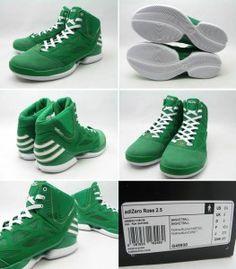 "buy popular 3c598 58b80 adidas adiZero Rose 2.5 ""St. Patricks Day"" Derrick Rose, Nba, St"