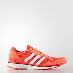 Adidas Adizero Adios 3 Womens Shoes Solar Red White Core Black Aq2433 7b44e83a39a75
