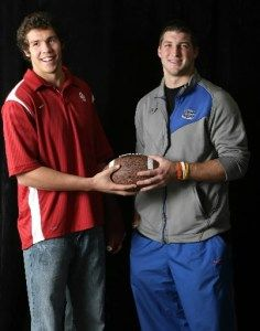 Sam Bradford, St. Louis Rams, and Tim Tebow, Team Tebow