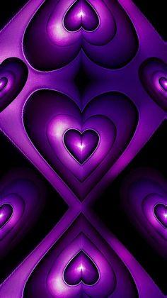Pretty Phone Wallpaper, Heart Wallpaper, Purple Wallpaper, Purple Backgrounds, Love Wallpaper, Wallpaper Backgrounds, Wallpaper Ideas, Phone Backgrounds, Purple Love