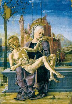 Cosmè Tura, Pietà, 1472, Venice, Museo Correr